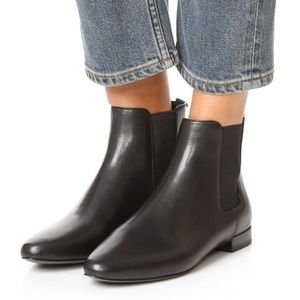 Tory Burch Orsay Leather Chelsea Boots New